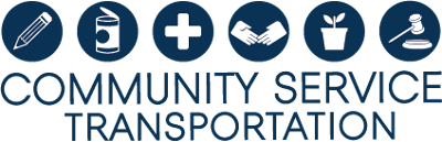 Community Service Transportation logo